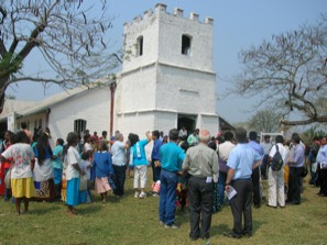 Centenary of the church in Paraguay